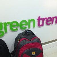 Photo taken at Green Trends by Aravind V. on 12/4/2013