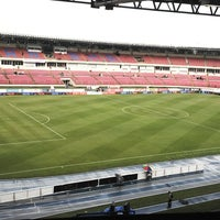 Photo taken at Estadio Rommel Fernández by DePanama A. on 6/7/2013