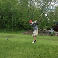 Photo taken at Crosswoods Golf Course by Kristi B. on 6/7/2013