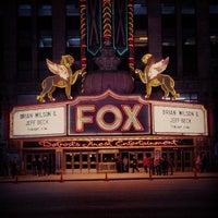 Photo taken at Fox Theatre by Detroiting on 10/26/2013