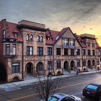 Photo taken at Brush Park Historic District by Detroiting on 1/11/2013