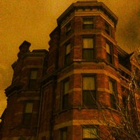 Photo taken at Brush Park Historic District by Detroiting on 12/17/2012