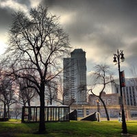 Photo taken at Grand Circus Park by Detroiting on 12/18/2012
