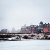 Photo taken at Brush Park Historic District by Detroiting on 2/22/2013