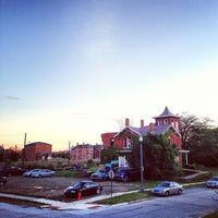 Photo taken at Brush Park Historic District by Detroiting on 9/23/2012