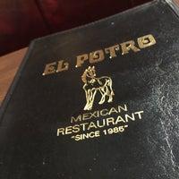 Photo taken at El Potro Mexican Restaurant by Doug H. on 2/10/2016