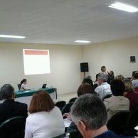 Photo taken at Unipampa - Auditório by Fernanda C. on 11/5/2013