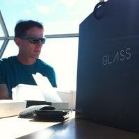 Photo taken at Google Glass Setup! by Lynn L. on 6/27/2013