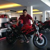 Photo taken at Ducati Ratchaphrurek by JANE S. on 4/9/2014