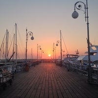 Photo taken at Larnaca Marina by Marina G. on 9/30/2013
