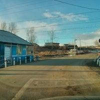 Photo taken at Ж/д переезд Красный Клин by Alexander T. on 3/28/2014