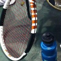 Photo taken at Celebrity Sports Club Tennis Court by Sharon Q. on 4/10/2013