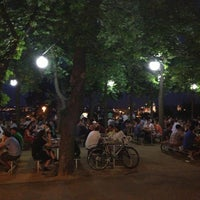 Photo taken at Letná Beer Garden by Balint Nemes P. on 7/19/2013