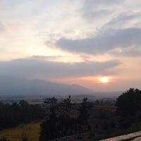 Photo taken at 월출산 by jessieTHEjazz on 11/1/2014