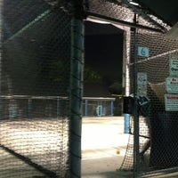 Photo taken at Sluggers Batting Cages by Maria D. on 6/12/2013