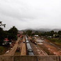 Photo taken at KTM Dabong Railway Station (Stesen Keretapi) by Jeremy O. on 1/10/2015