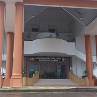 Photo taken at Arkib Negara Malaysia Cawangan Sabah by Eza F. on 6/26/2013