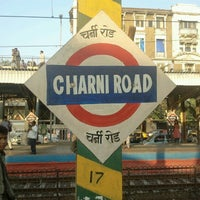 Photo taken at Charni Road Railway Station by Amber on 12/20/2012