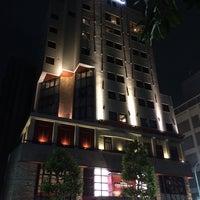Photo taken at Hotel Coco Grand Ueno Shinobazu by Hirotomo S. on 8/25/2014