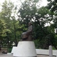 Photo taken at Abay Kunanbayev Monument by Ангел С. on 6/22/2013
