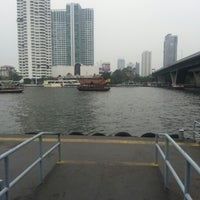 Photo taken at Sathorn (Taksin) Pier (CEN) by kaitun m. on 2/3/2013
