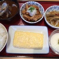Photo taken at まいどおおきに食堂 豊田広久手食堂 by Masanobu E. on 3/25/2014