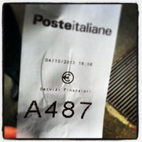 Photo taken at Poste Italiane by Tommaso S. on 10/4/2013
