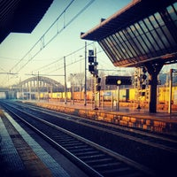 Photo taken at Milano Rogoredo Railway Station (IMR) by Tommaso S. on 3/19/2013