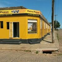 Photo taken at Vieira Pneus by Leonardo D. on 9/8/2015