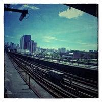 Photo taken at Estação Carandiru (Metrô) by Setra D. on 1/7/2013