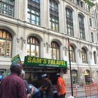 Photo taken at Sam's Falafel by Jennifer G. on 9/10/2014