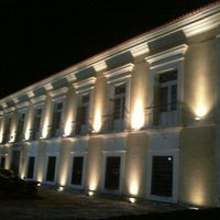 Photo taken at Casa das Onze Janelas by Roy S. on 6/8/2013
