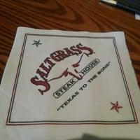 Photo taken at Saltgrass Steak House by Desmon N. on 12/6/2012