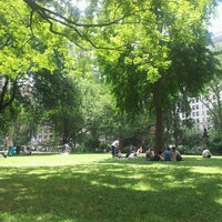 Photo taken at Madison Square Park by Kevin D. on 6/28/2013