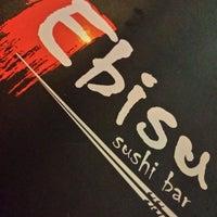 Photo taken at Ebisu Sushi Bar by Jackson S. on 1/24/2014