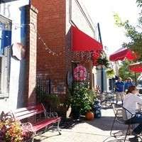 Photo taken at New Moon Cafe by Jane B. on 10/26/2013