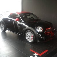 Photo taken at MINI Cooper by Nelly G. on 6/16/2014
