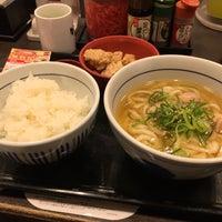 Photo taken at なか卯 なんさん通店 by 鈴木 海. on 12/9/2016