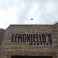 Photo taken at Lemonjello's Coffee by Kaity C. on 6/12/2013