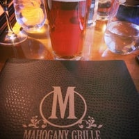 Photo taken at Mahogany Grill by Brady F. on 3/14/2016