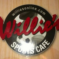 Photo taken at Willie's Sports Cafe Bridgetown by Carl I. on 7/6/2013
