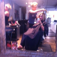 Photo taken at Empire Hair Studio by Christine L. on 7/18/2013
