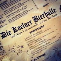 Photo taken at The KBH (Die Koelner Bierhalle) by Nick S. on 6/11/2013