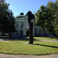 Photo taken at Сквер им. Дзержинского by Тимофей on 6/19/2013
