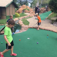 Photo taken at Lost Mountain Adventure Golf by Melissa S. on 8/21/2017