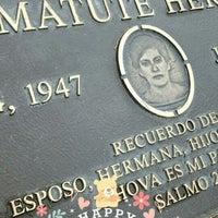 Photo taken at Forest Lawn Ondina Matute Hernandez by 🇺🇸⚽Dubany H. on 5/9/2016