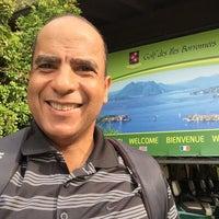 Photo taken at Golf Des Iles Borromees by Antonio L. on 9/22/2016