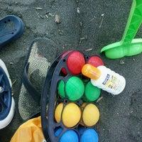 Photo taken at Spiaggia Stella Polare by Ciminauto O. on 7/5/2013