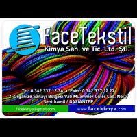 Photo taken at Face Tekstil Kimya by Cem A. on 11/30/2013
