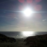 Photo taken at Camber Central Beach by Nick A. on 1/26/2013